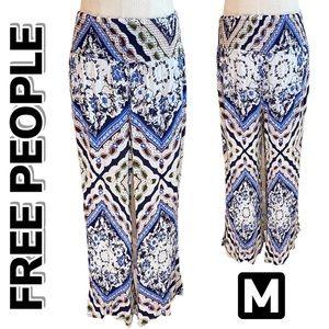 FREE PEOPLE Wide Elastic Waist Pant (M)